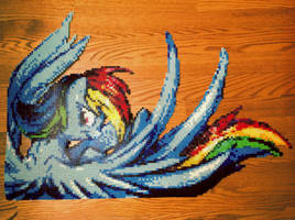 {Perler} Rainbow Dash Has Awesome Wings