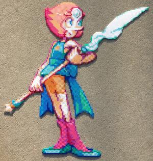 {Perler} Pearl is Amazing