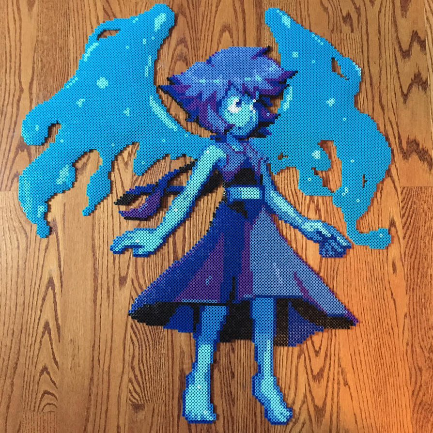 No seriously, Lapis is best gem. I know Peridot was highest on the poll, but I didn't have enough of a certain color, and, well, it's Bob Lapis! Like Pearl, the original sprite is by AbyssWolf. So,...