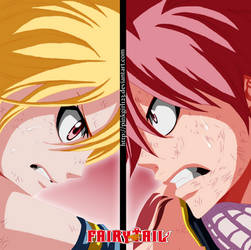 Natsu and Lucy 327 by PinkGirl123