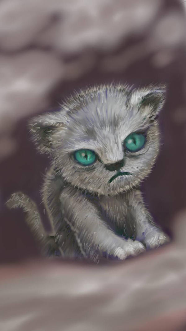 Kitty speed painting by Penumen