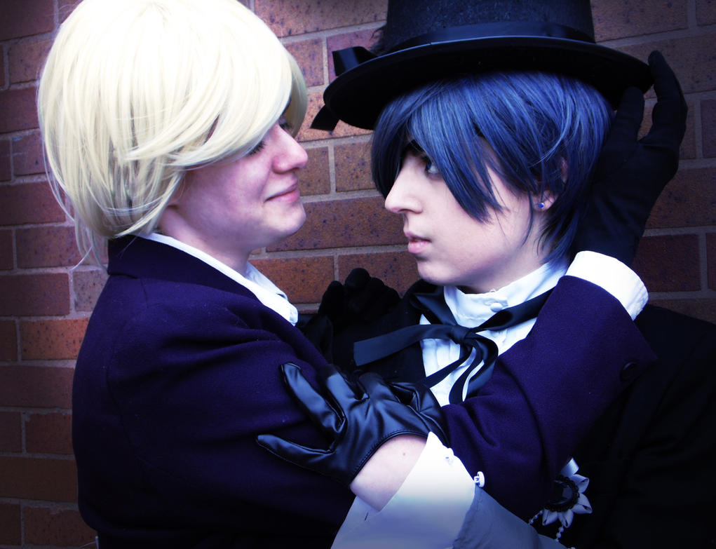Black Butler - Smile for Me by ember-ablaze