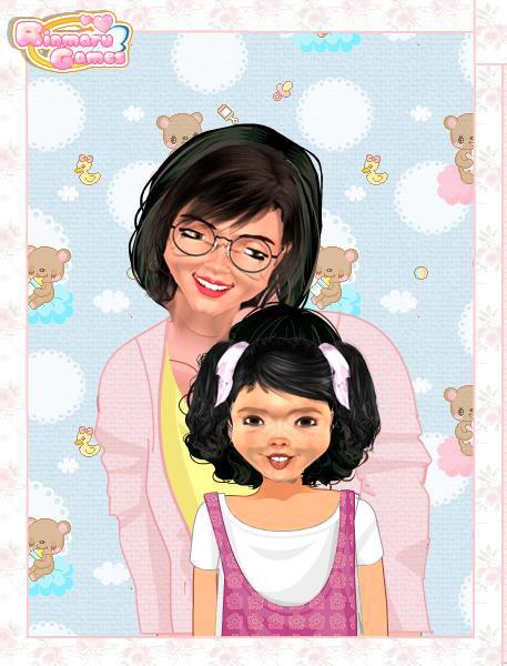 Little Penny and Mamma by VirtualGiovanna