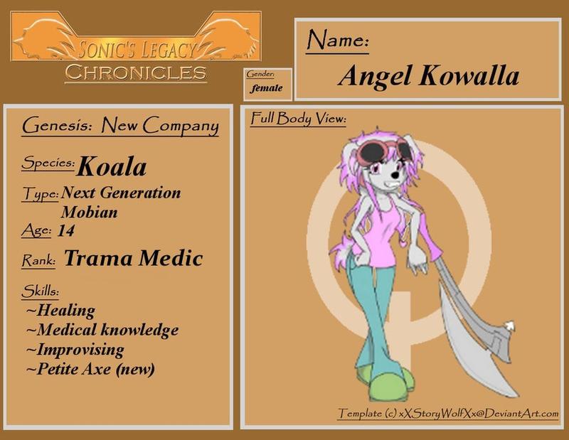 Angel Kowalla SLC by ShadeOokami