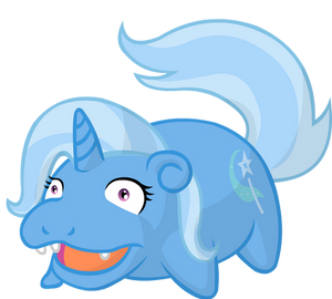 Trixie is slowpoke