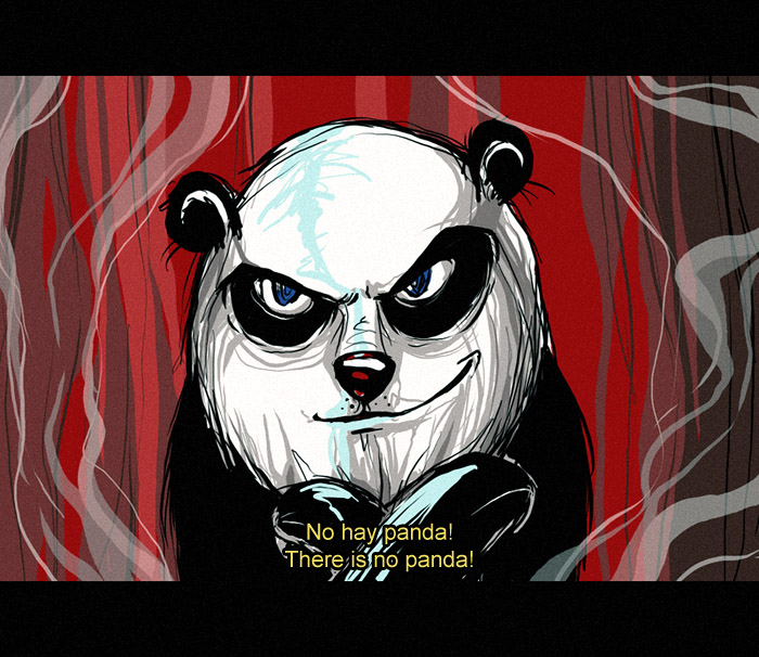 no hay panda by alphyna