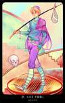 Planescape: Tarot. 0. Fool by alphyna