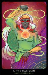 Planescape: Tarot. I. The Magician by alphyna