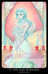 Planescape: Tarot. II. The High Priestess by alphyna