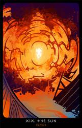 Planescape: Tarot. XIX. The Sun by alphyna