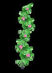 rose garland  1 PNG stock