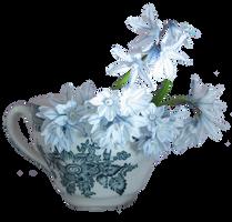 white hyacinths png by Amalus