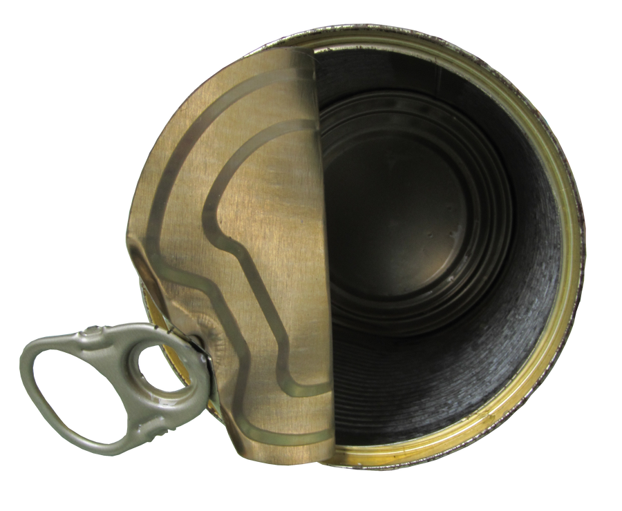 opened tin can by Amalus