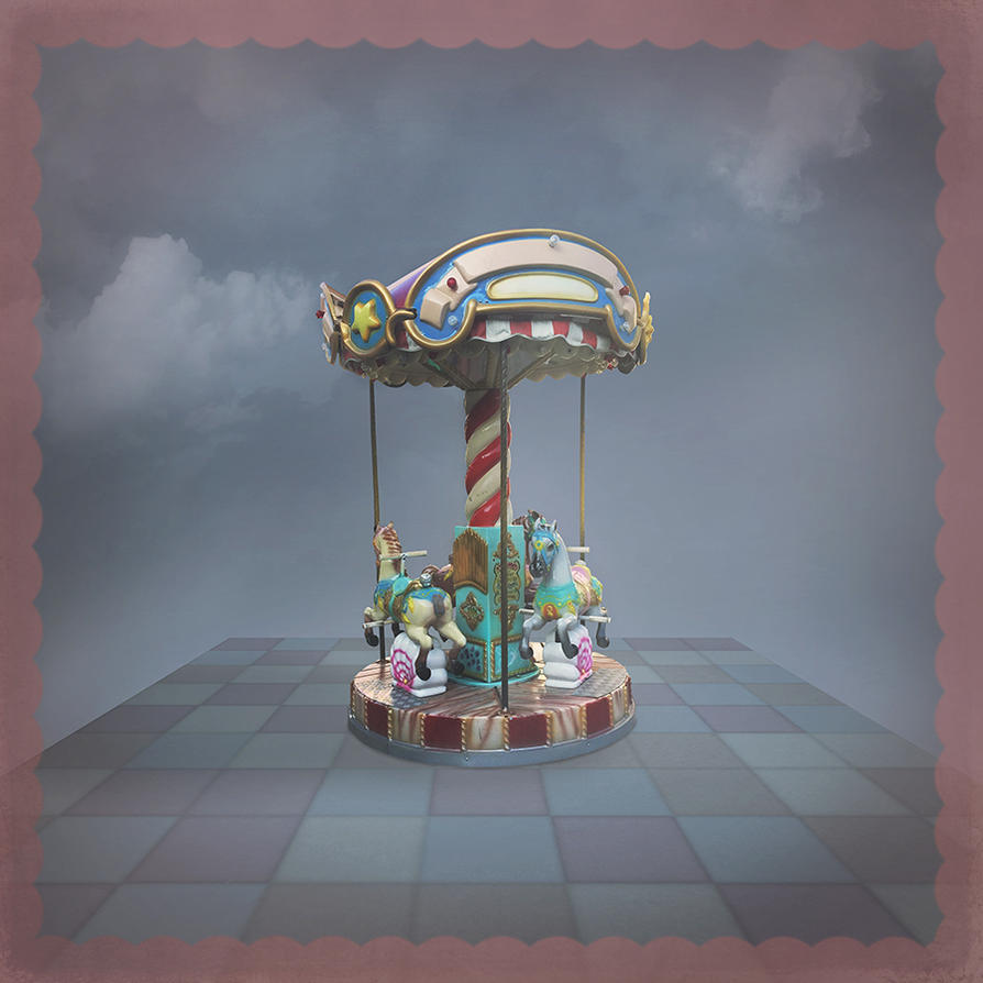 merry-go-round png by Amalus