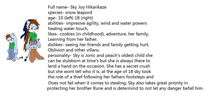 Sky Bio by JonicOokami7