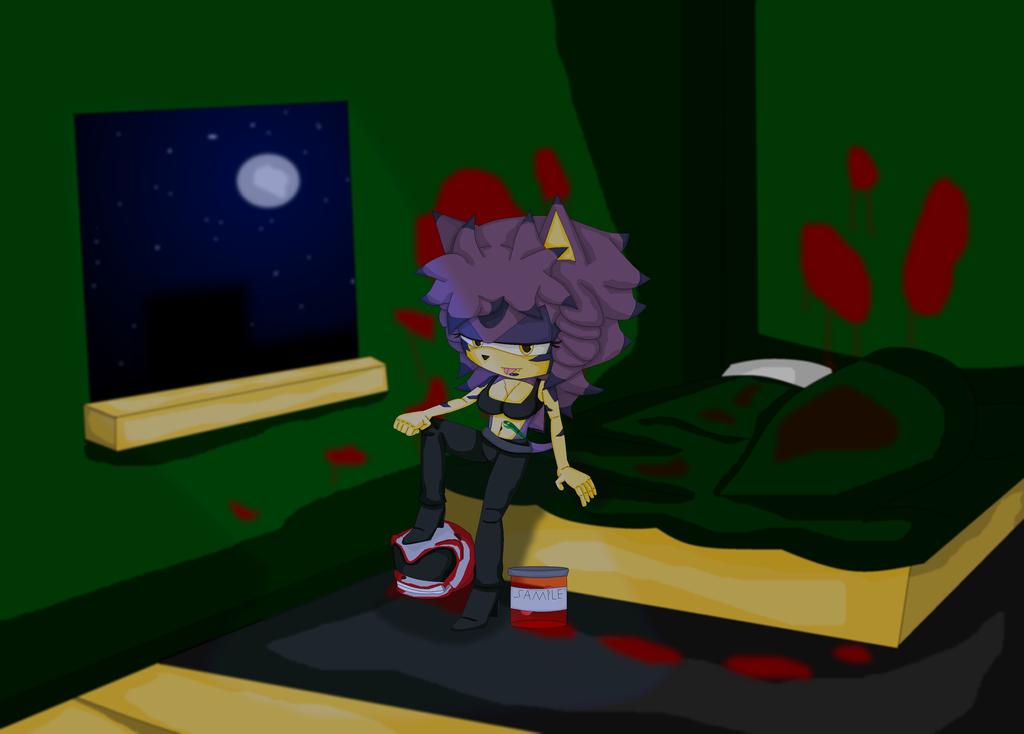 So Much Blood by Jonicthedgehog