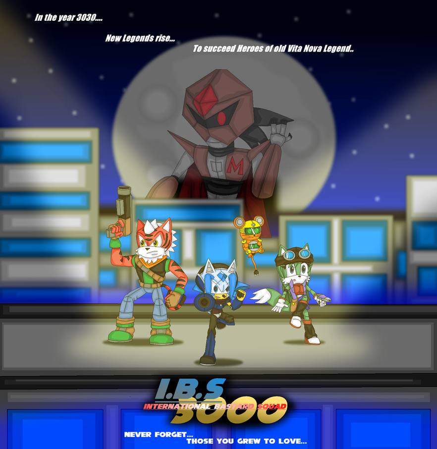 I.B.S 3000 by Jonicthedgehog