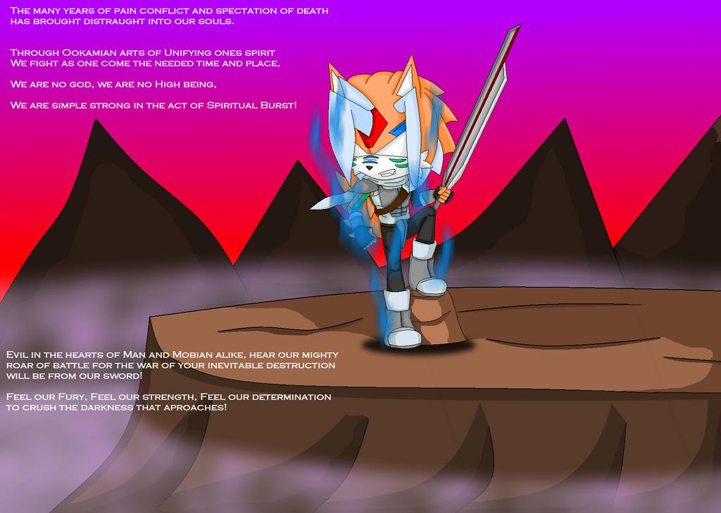 Ferocious Warrior by JonicOokami7