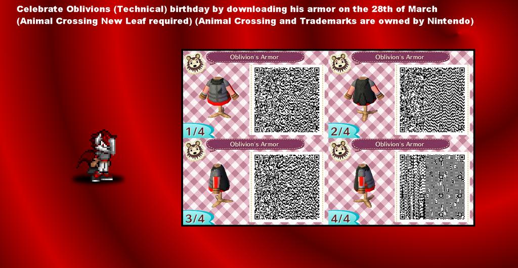 Birthday Promotional - Oblivion by JonicOokami7