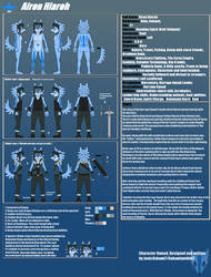 Airon Hiaroh - Reference Sheet V2 by JonicOokami7