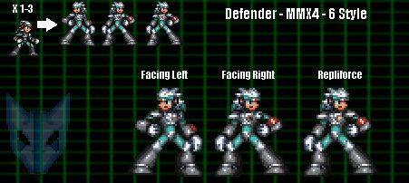 Defender (X4-6 Style)