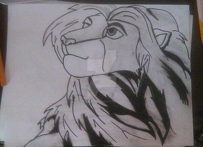 Simba -2014 by RedDragon979