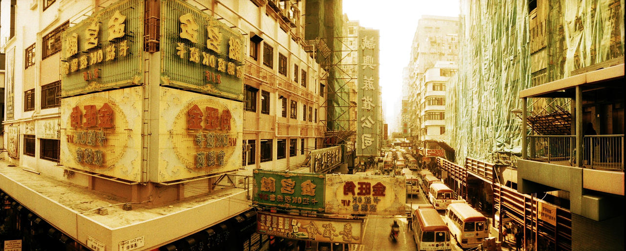 Hong Kong passageways, to Mong KoK by CorsoDomenic