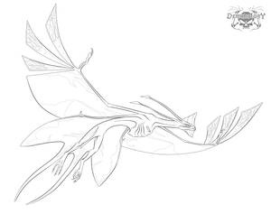 Toruk-Leonopteryx lineartstock