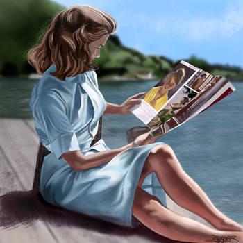 Retro Girl by ginny33373