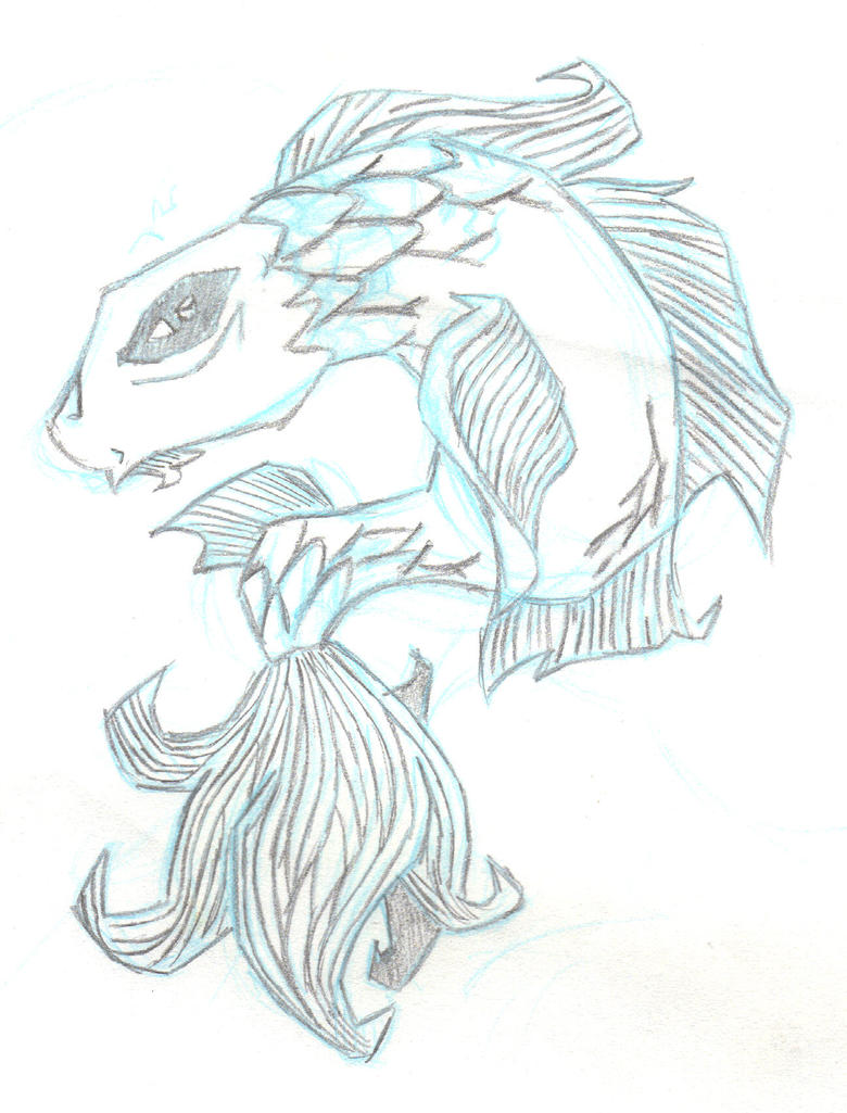 Line Drawing Koi Fish : Koi fish flash line art by drink of lonelyness on deviantart