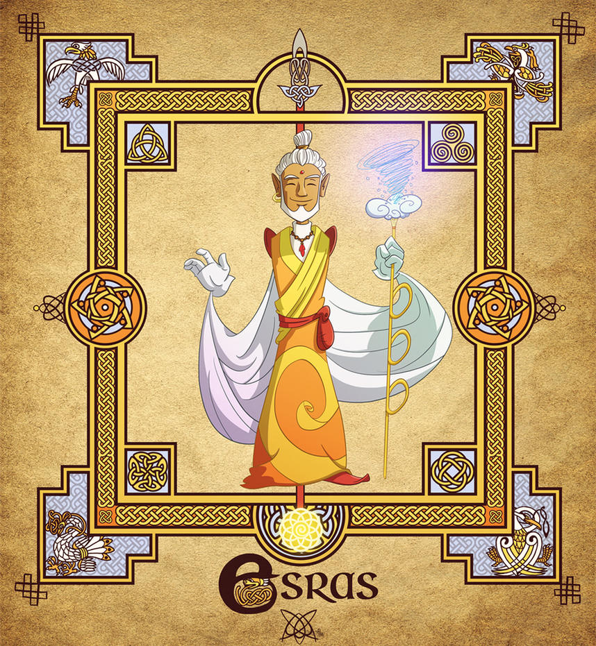 The Four Fairy Masters: Esras by travellustrator
