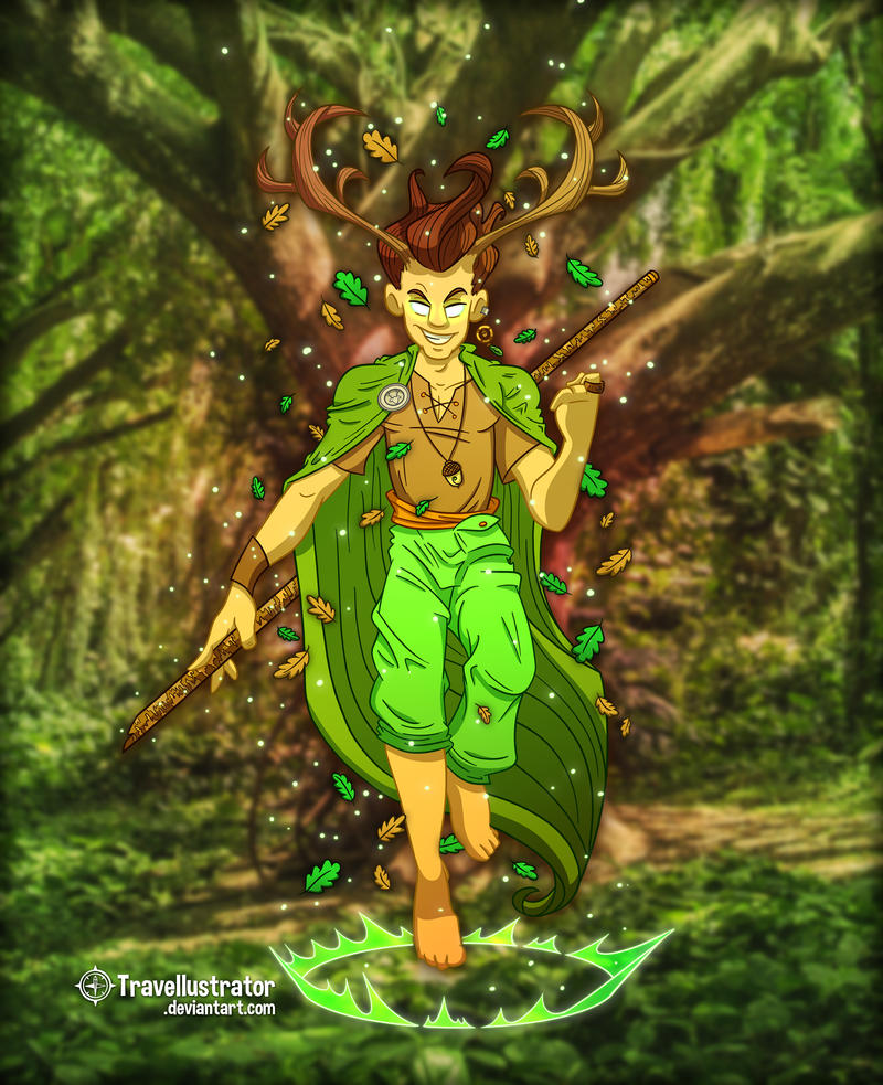 Seamus the Stag Boy by travellustrator