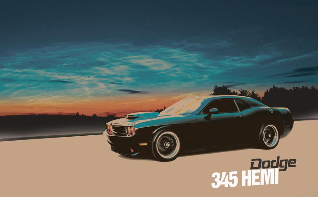 Dodge Challenger 345 HEMI by B00MER