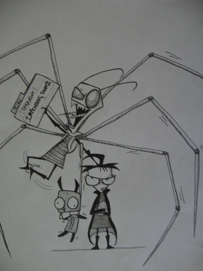 Invader Zim by TheSpyderQueen
