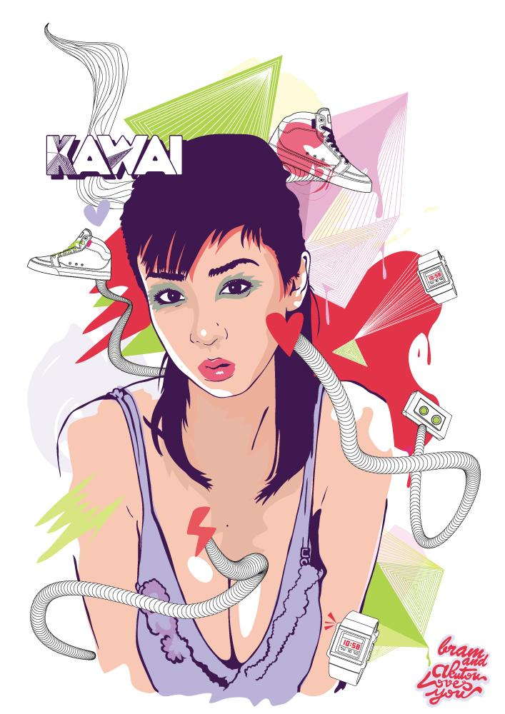 KAWAI. Love by Espador