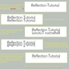 Reflection Tutorial by Espador