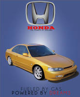 Honda Accord Gradient mesh