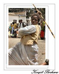 The Dancing Man by konjit