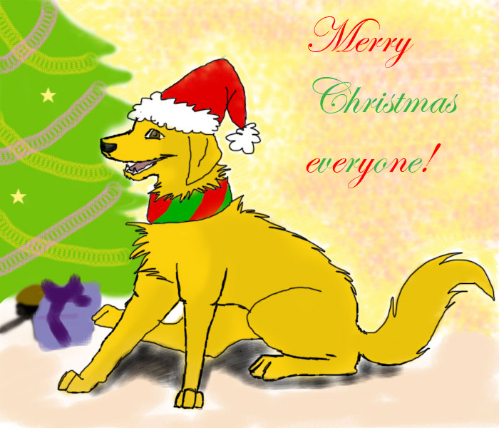 Merry Christmas everyone by wega123451
