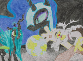 Takeover Equestria by Meowplease