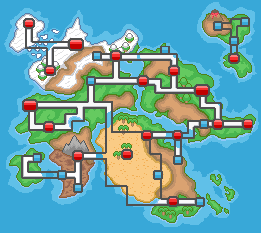 The Altica Region World Map by PokemonAegis