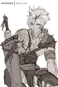 Cloud  the Barbarian (Patreon update !)