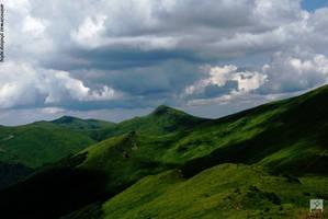 Mountains waves by animisiewaz