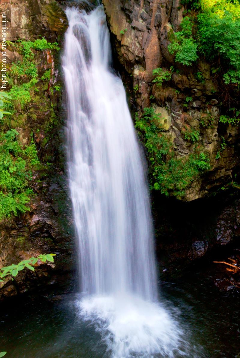 Waterfall Wilczki by animisiewaz