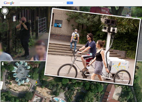 Caught on Google Street View: Odd Tricycle Thingy
