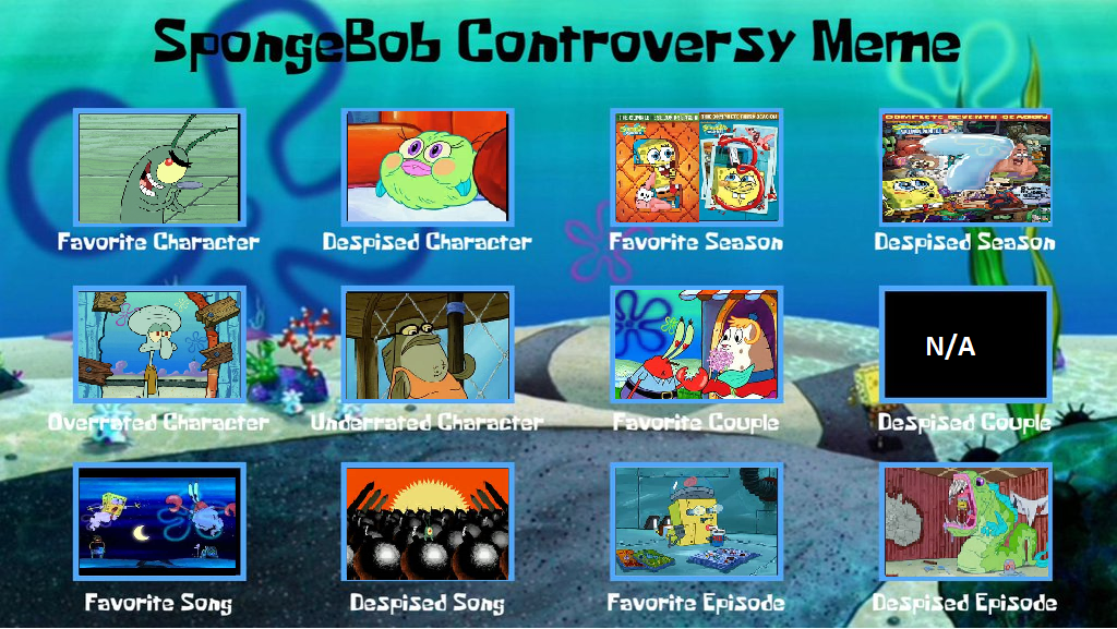 Spongebob Controversy Meme by IgglyMcDiggly