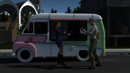 Icecream van by wendyluvscatz