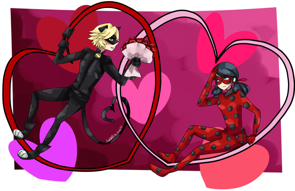 V-day 10: ladynoir by 3mo-Art