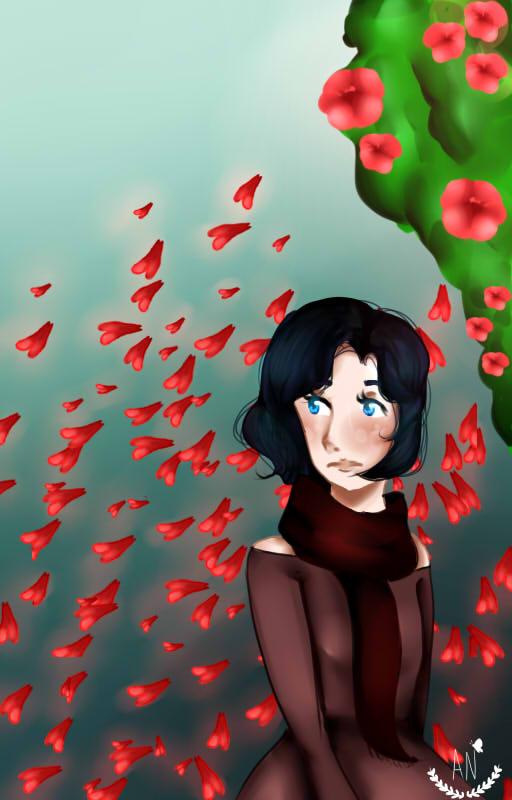 Lluvia de petalos by Ann145lov