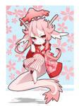 Sakura Guardian Dragon - MiniAuction CLOSED by SuarezGuillen-art
